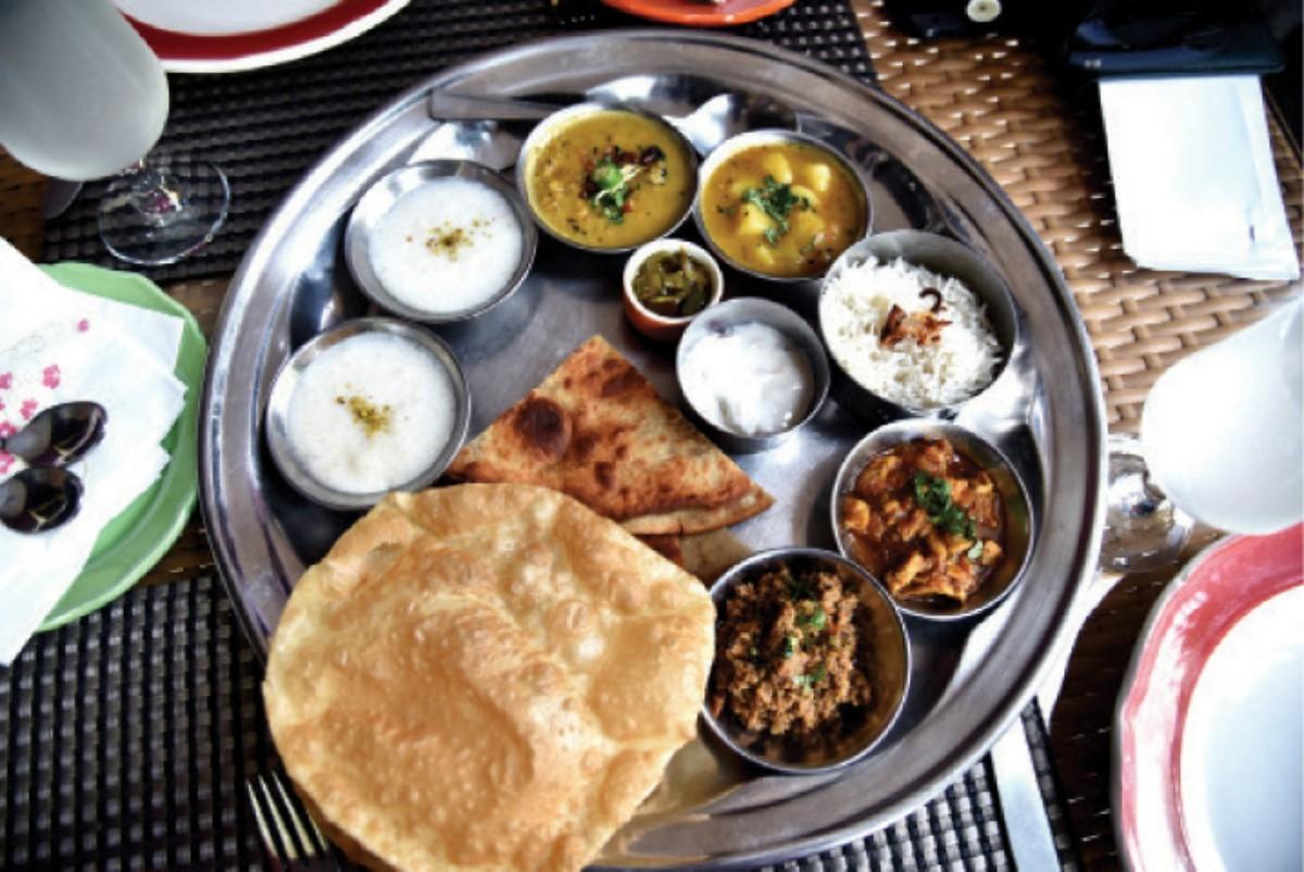 A Bengal inspired platter