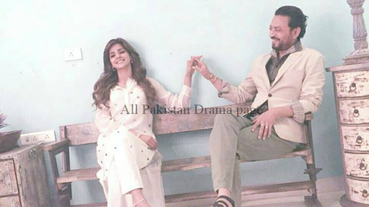How cute do these two look together? —Photo courtesy: All Pakistan Drama Page