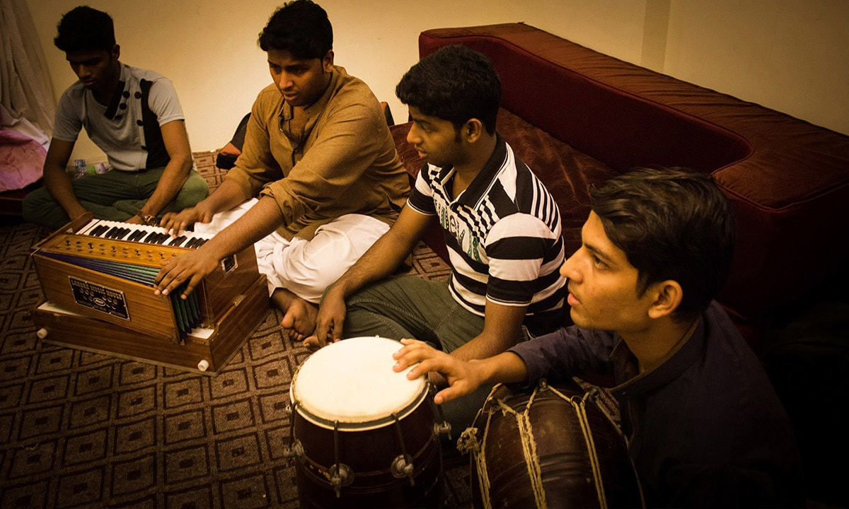 Hamza Akram and Brothers, the youngest generation of qawwals from Delhi's Qawwal Bachchon Ka Gharan | Alifiyah Imani