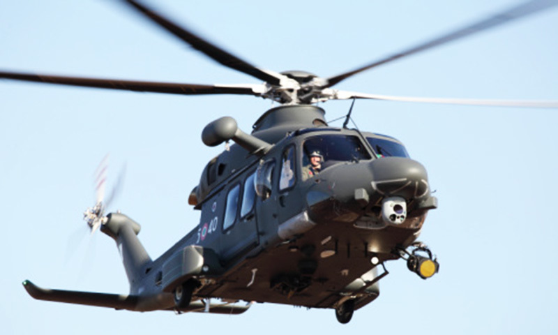 Pakistan signs helicopter contract with Italian aerospace giant