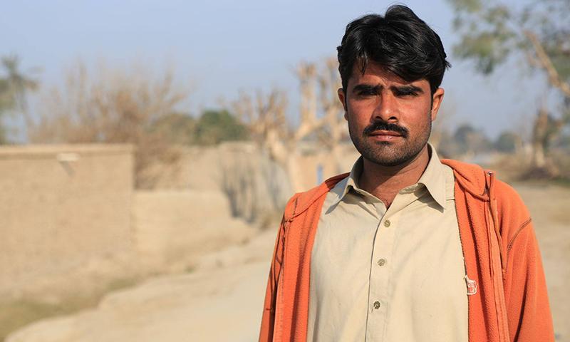 شریف کی کہانی کا آخر خوشگوار نہیں رہا — تصویر سید اویس علی