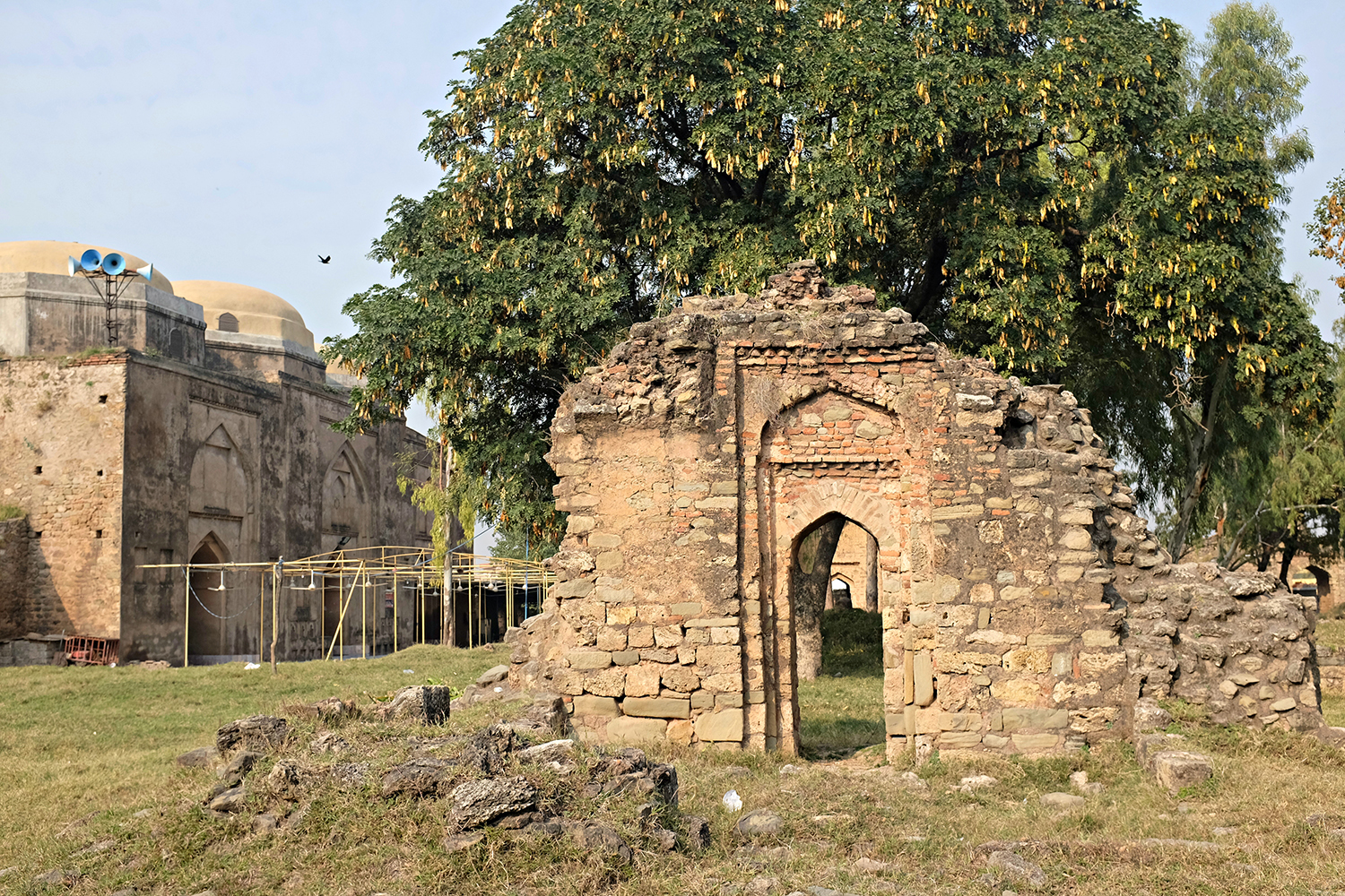The inside view of Rawat Fort.