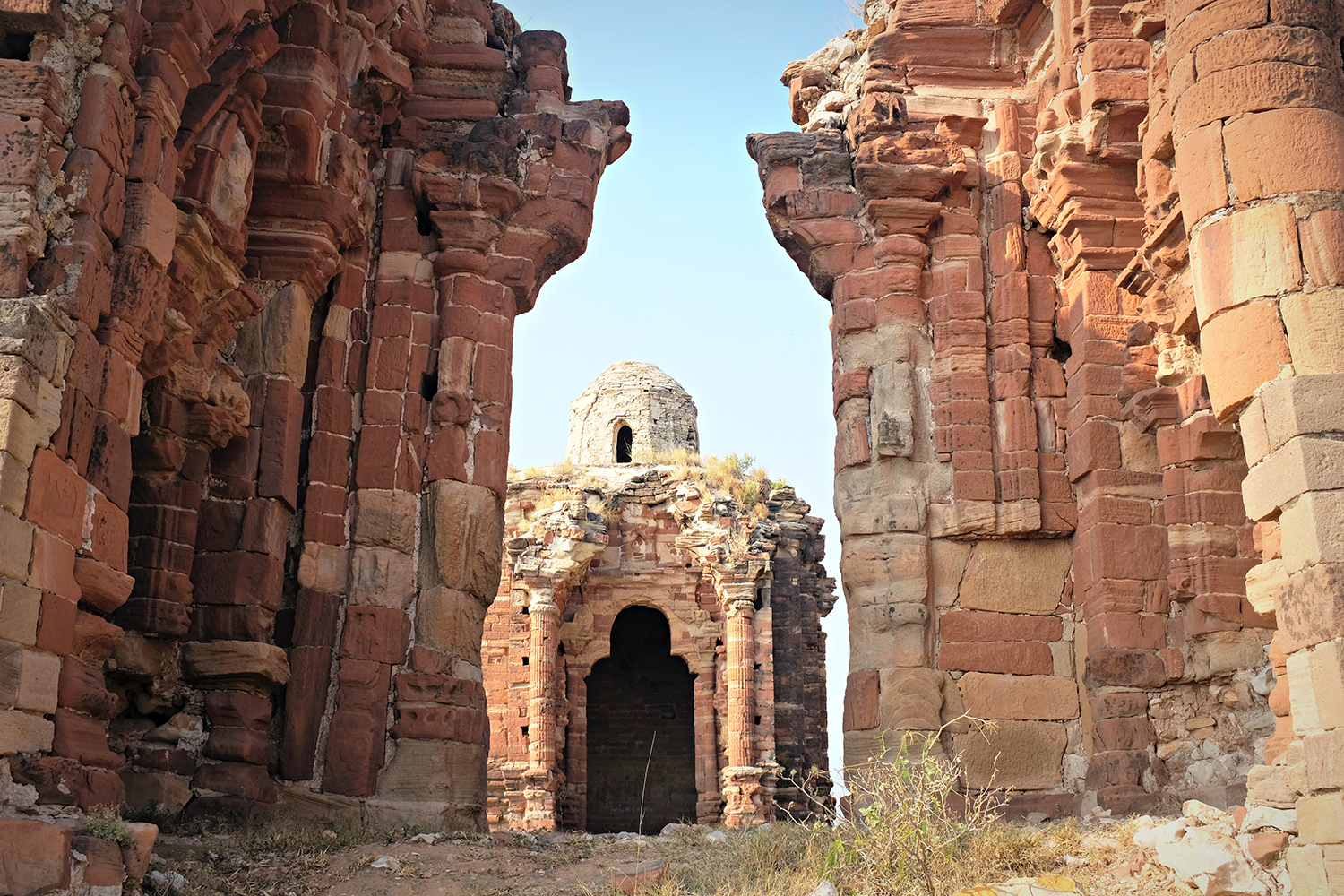 The temples in Malot are in dire need of repairs