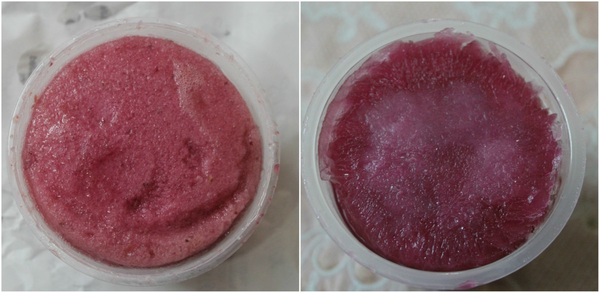 Sorbet or kulfi? Spot the difference! (Saydyz's on the left, Zee's on the right)