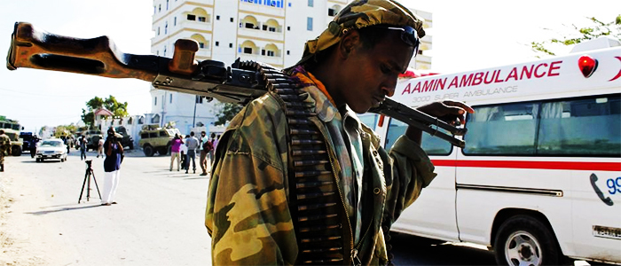 At least 10 people killed in drone strikes in Somalia were citizens. ─ Reuters/File