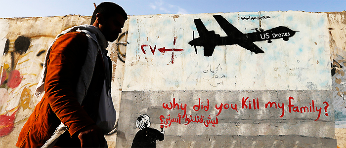 Over 770 people have been killed in drone strikes in Yemen. ─ Reuters/File