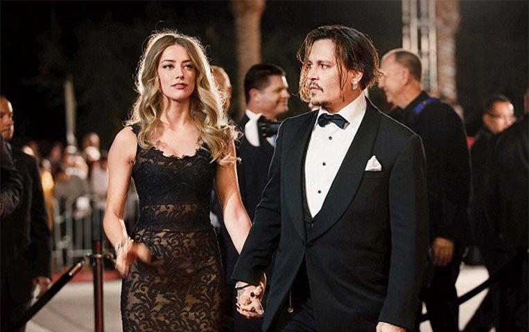 ہولی وڈ اداکار جونی ڈیپ پر بیوی پر تشدد کا الزام
