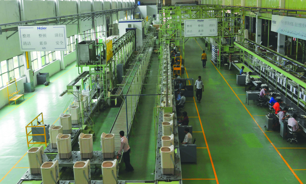 Inside a Haier Pakistan factory | Arif Ali, White Star