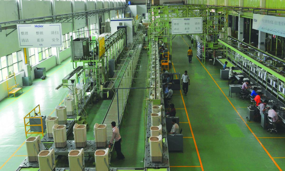 Inside a Haier Pakistan factory | Arif Ali, White Star