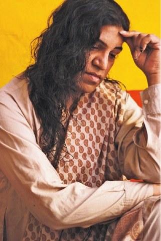 Lahore based transgender activist Neeli Naz. —Photo by Xari Jalil
