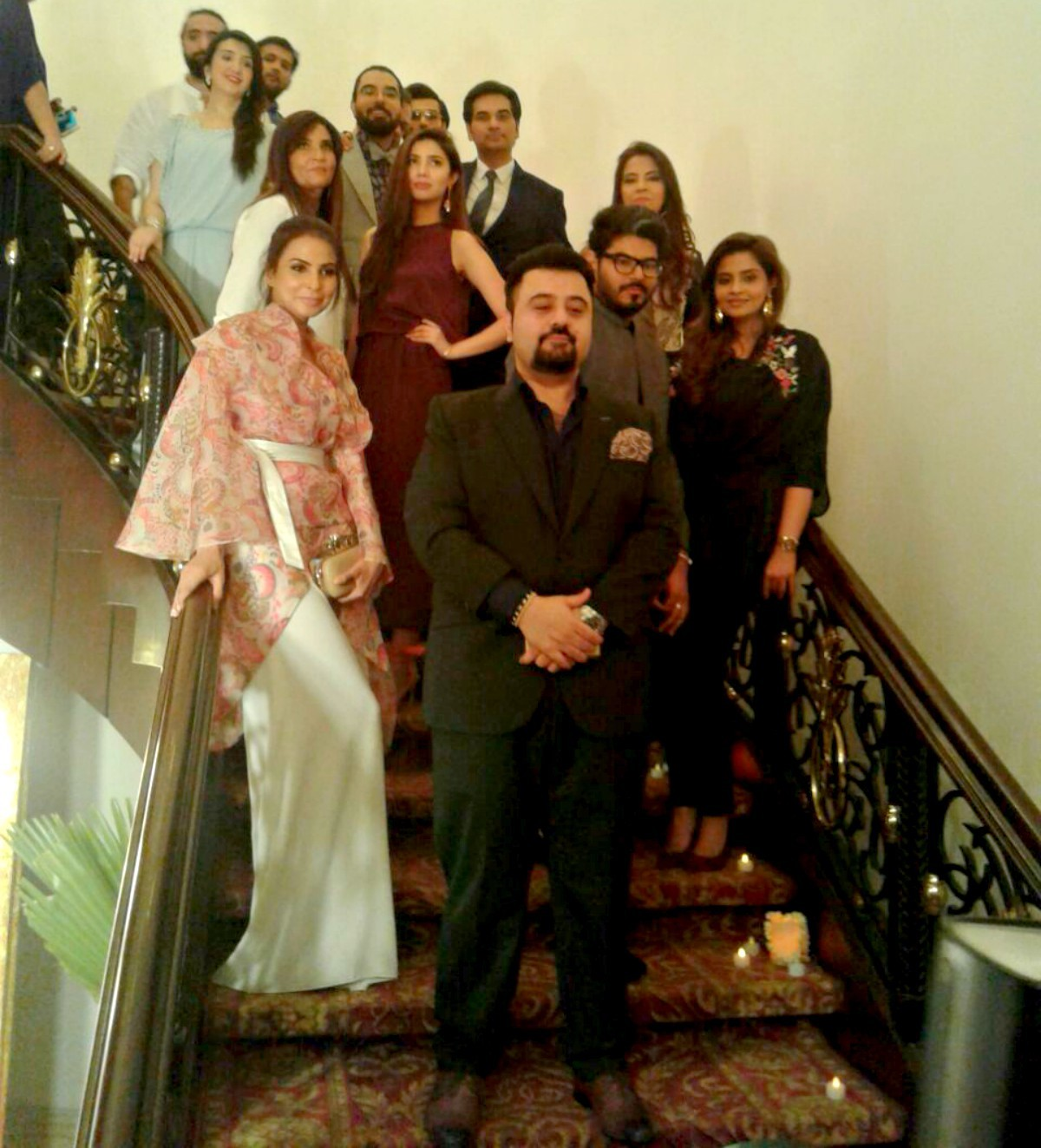 Ahmed Ali Butt leading the pack of nominees (and their families and friends)