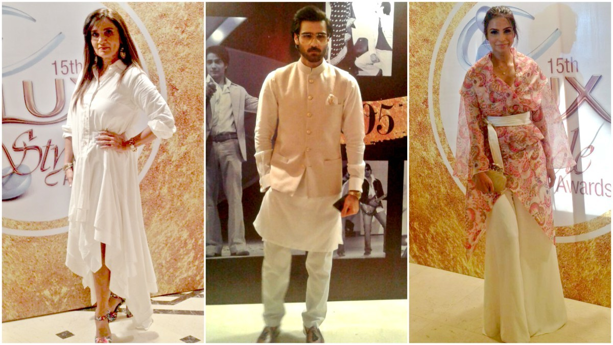 Frieha Altaf, Fauzia Aman and Hasnain Lehri were some of the very stylish guests of the night