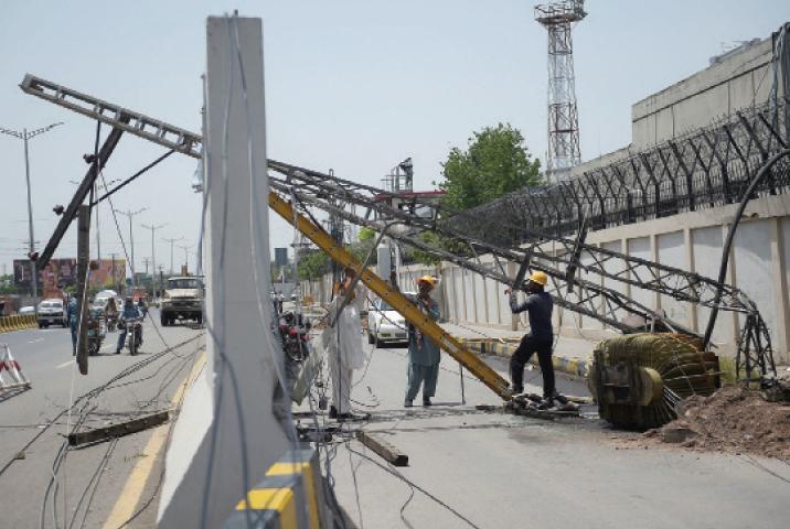 Rawalpindi remains 'powerless' for second consecutive day - Pakistan