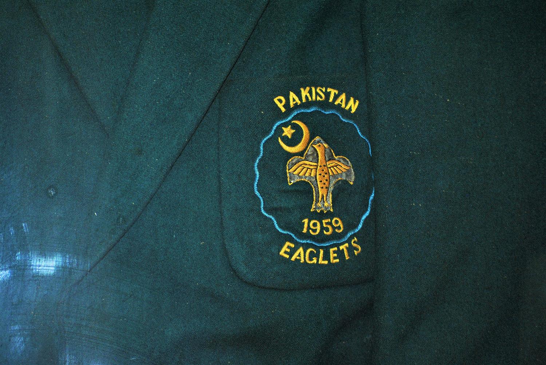 پاکستان ایگلیٹس کا 1959 کا کوٹ۔— فوٹو عون علی