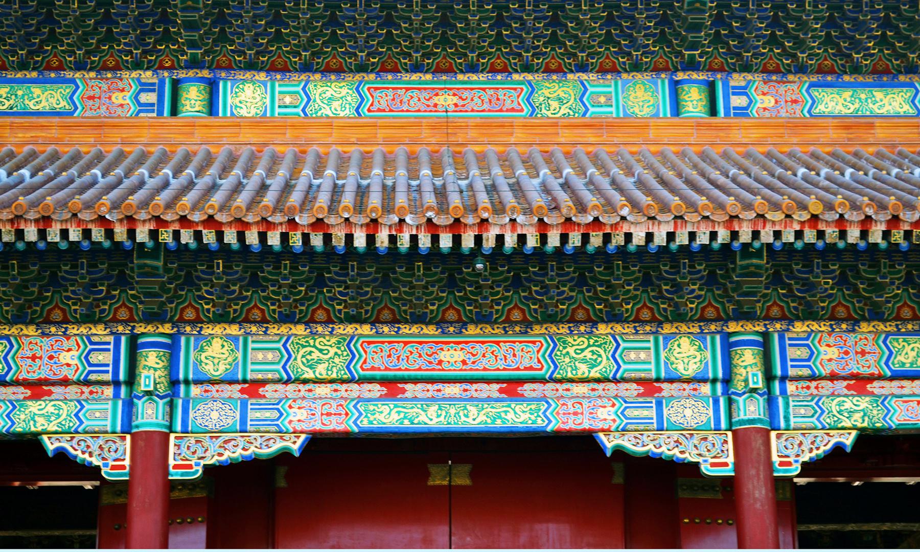چین کا قدیم فن تعمیر — تصویر رمضان رفیق