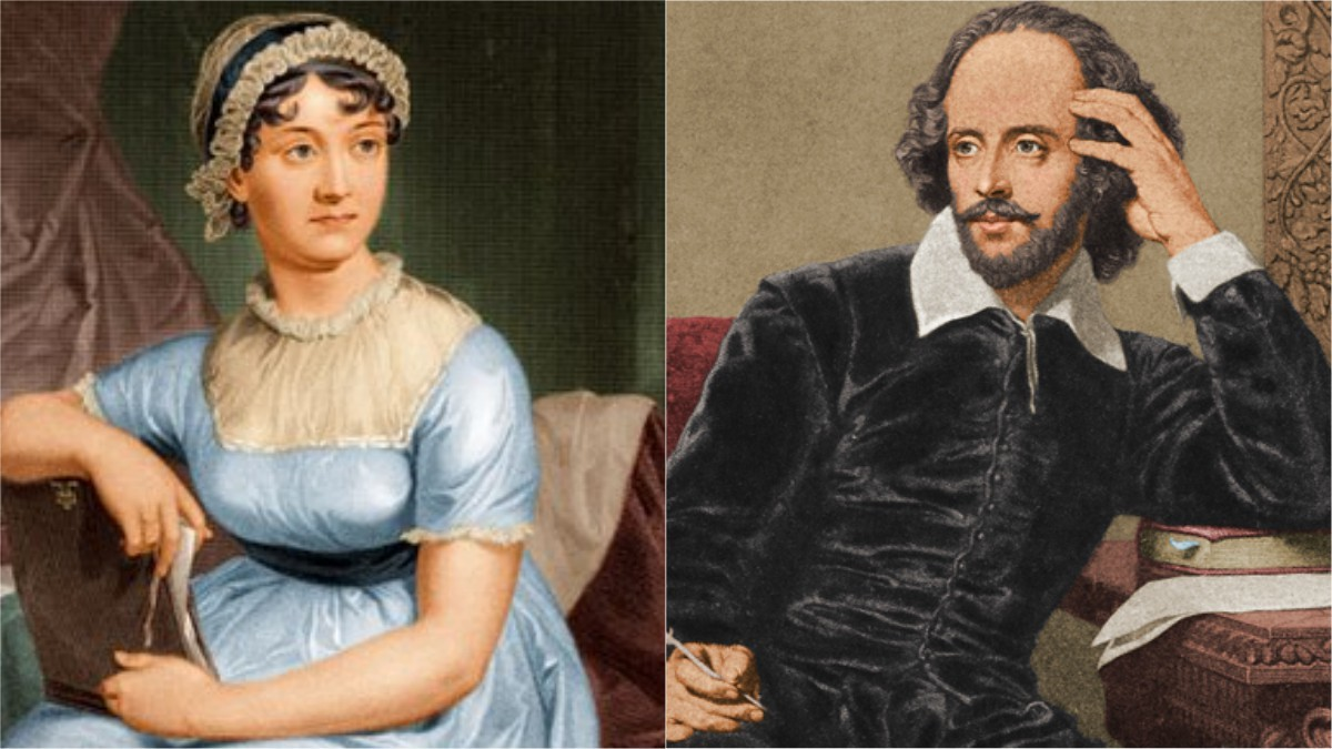 How similar were Shakespeare and Austen? 'Cult of Celebrity' exhibit finds out