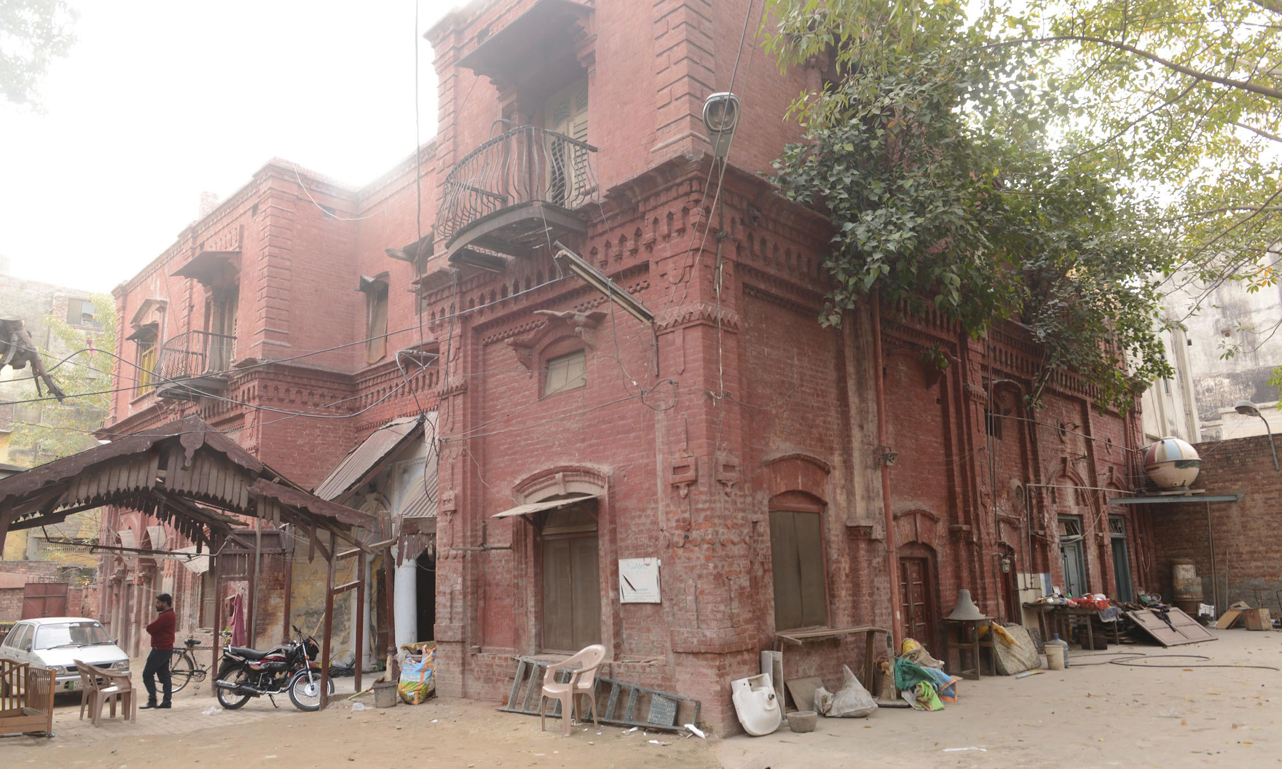 Imambargah torn down in Lahore | Azhar Jafferi, White Star