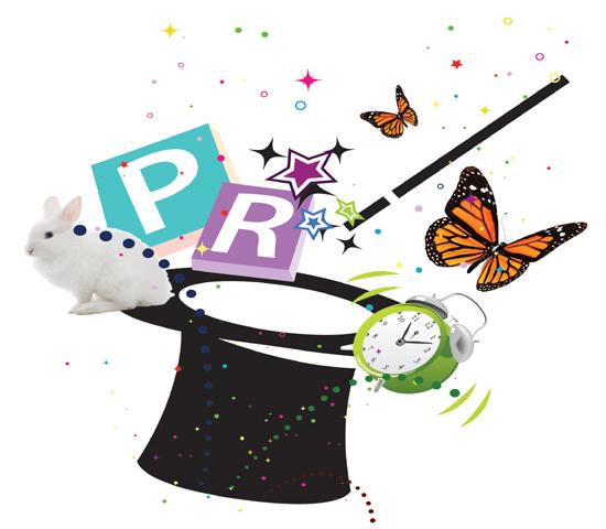 Three steps to PR magic