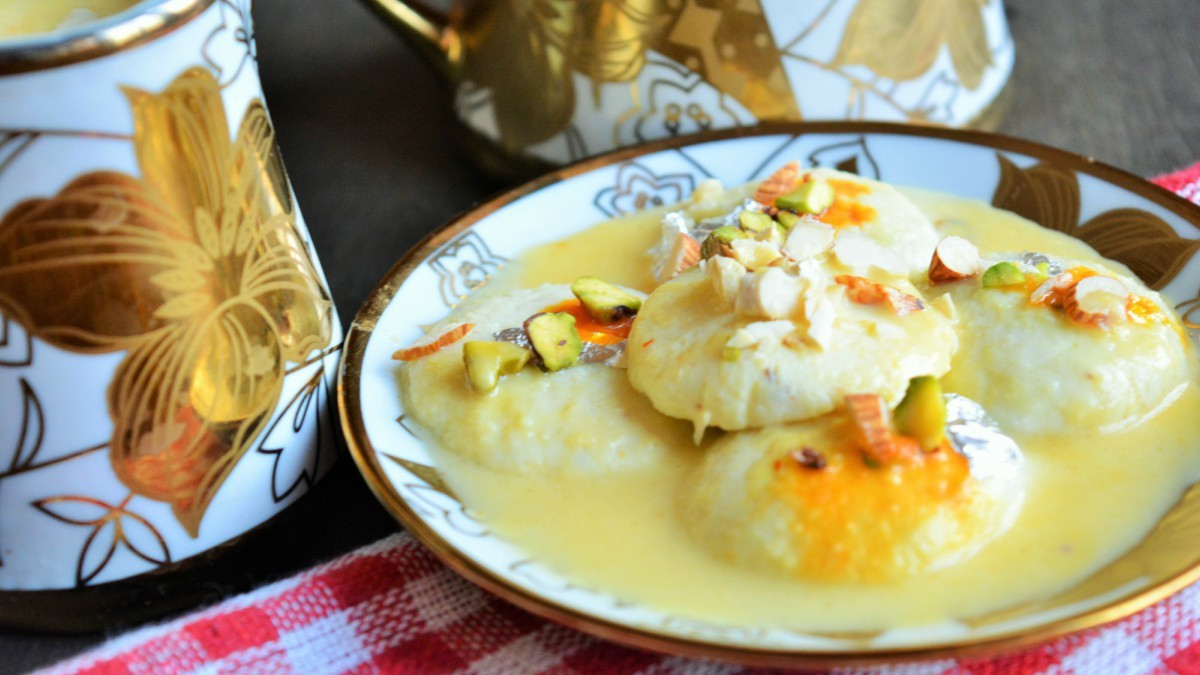 Satisfy your sweet tooth with low-sugar desserts like Ras Malai