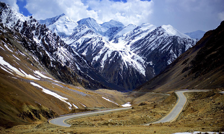 The Karakoram mountain range,  Astore Valley. — Photo by Najeeb Mahmud
