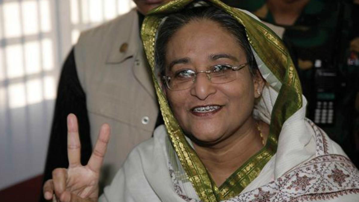 Sheikh Hasina has led the Bangladesh Awami League since 1981 —Photo courtesy: AP