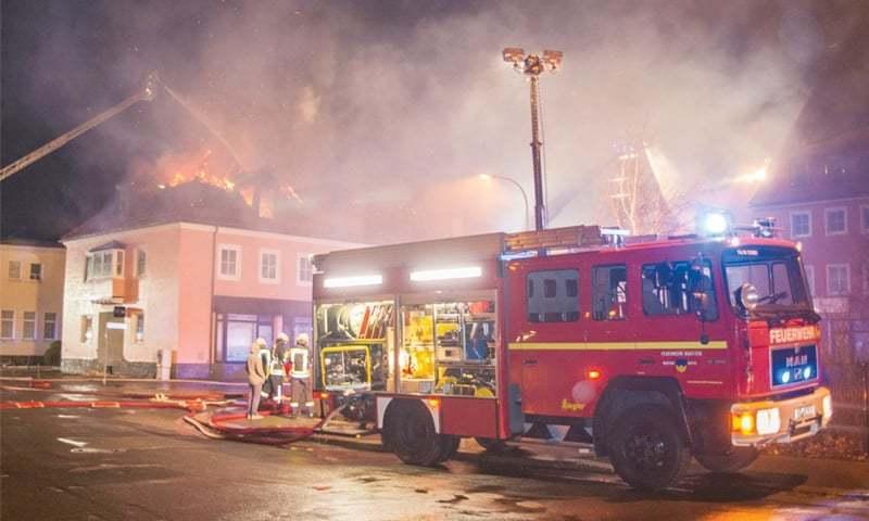 'Ramazan row' behind fire at German refugee shelter