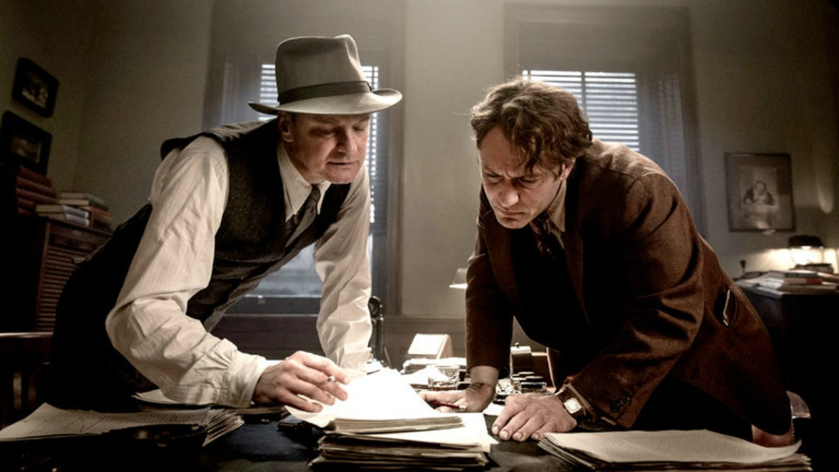 'Genius' chronicles the literary bromance between Max Perkins and Thomas Wolfe