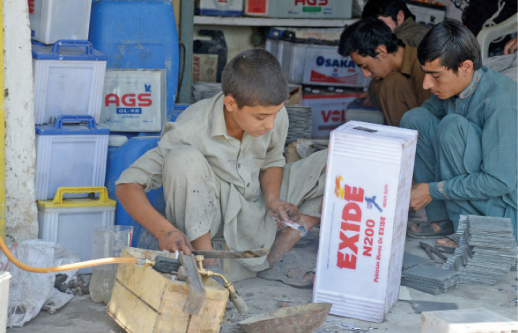International Day against Child Labour being observed today