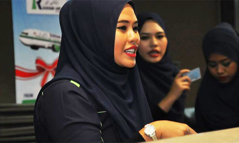 Rayani Air was  Malaysia's first sharia-compliant airline─Rayani Air Facebook page