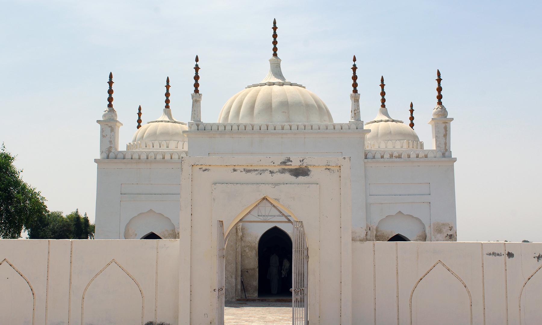 میرن واری مسجد — تصویر اختر حفیظ