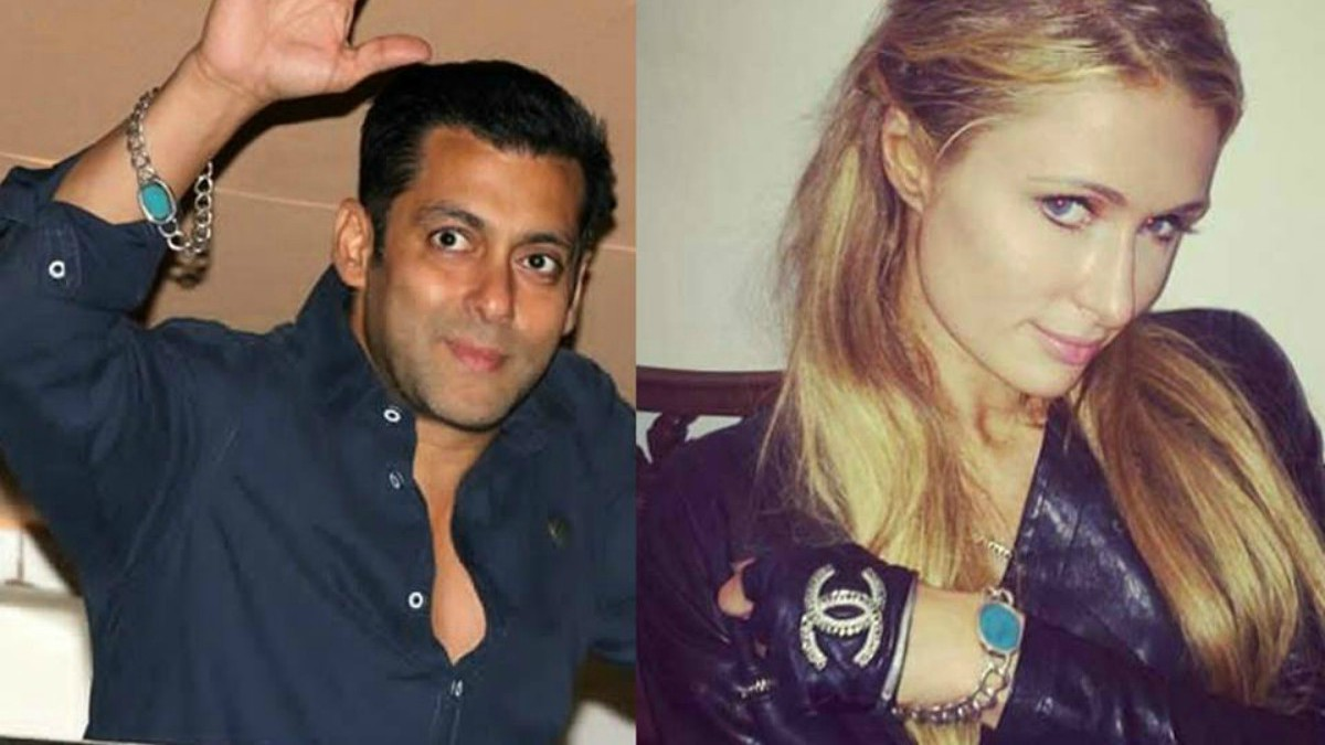 Even Paris Hilton had one (for a bit)! Along with gifting her a diamond necklace on her trip to India in 2014, Salman even let Paris Hilton wear his lucky charm
