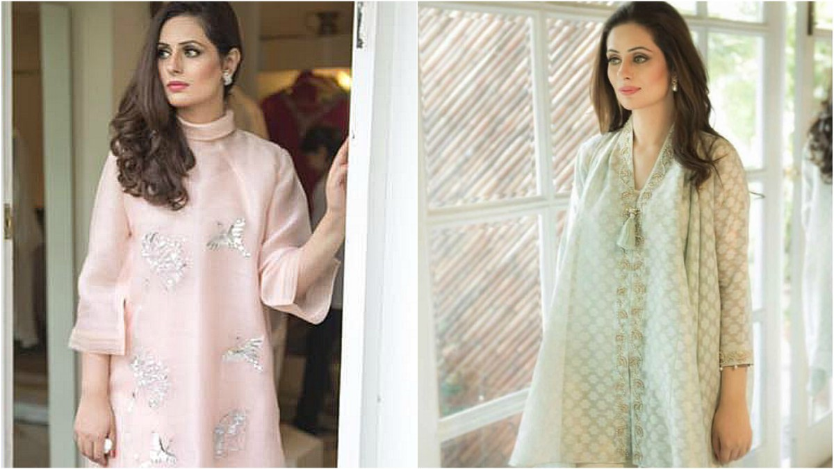 Khuban Omer, Farida Hasan's daughter and director of her brand, regularly ropes in her friends for shoots