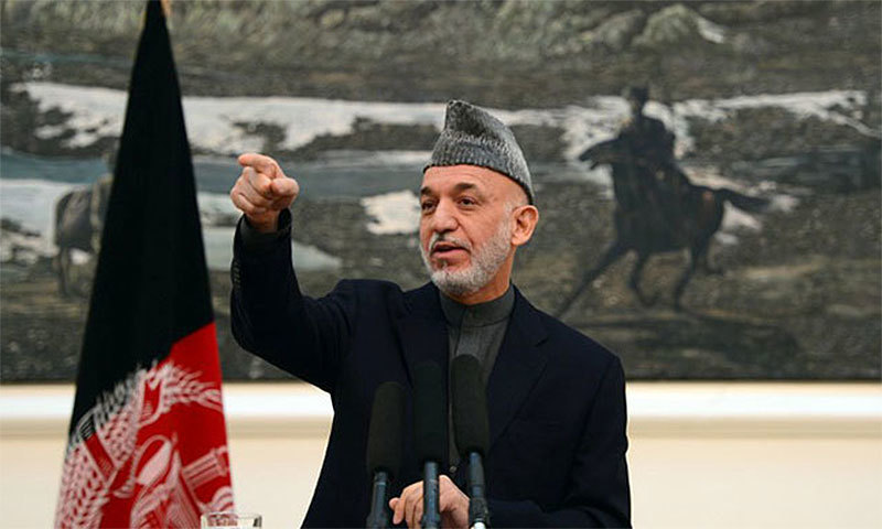 Pakistan can't tolerate increasing India-Afghan friendly ties: Karzai