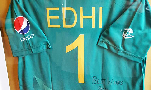 Pakistan's official kit to feature Edhi Foundation logo on English tour