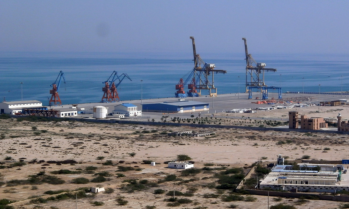 Pakistan's Gwadar Port | AFP