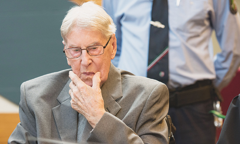 Ex-SS guard convicted of complicity in Auschwitz murders