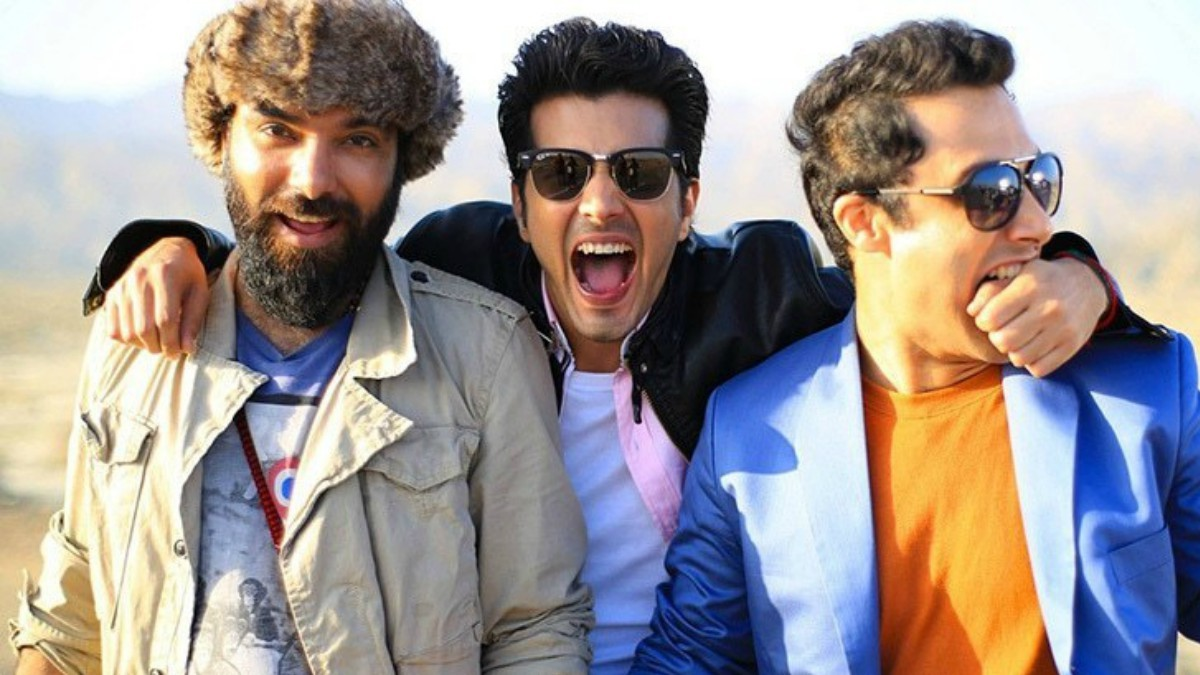 The Karachi Se Lahore trio: Yasir Hussain, Shehzad Sheikh and Ahmed Ali