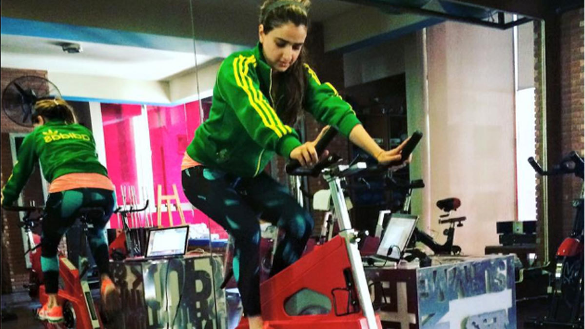Studio X indoor cycling instructor