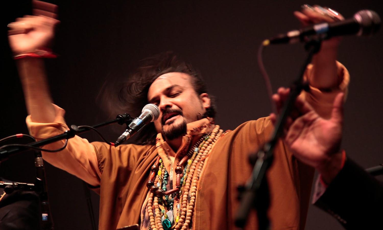In photos: Amjad Sabri— The powerhouse performer