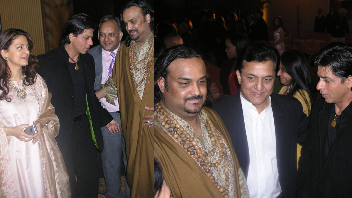 The Pakistani Sufi singer with Shah Rukh Khan - Photo courtesy Routes2Roots
