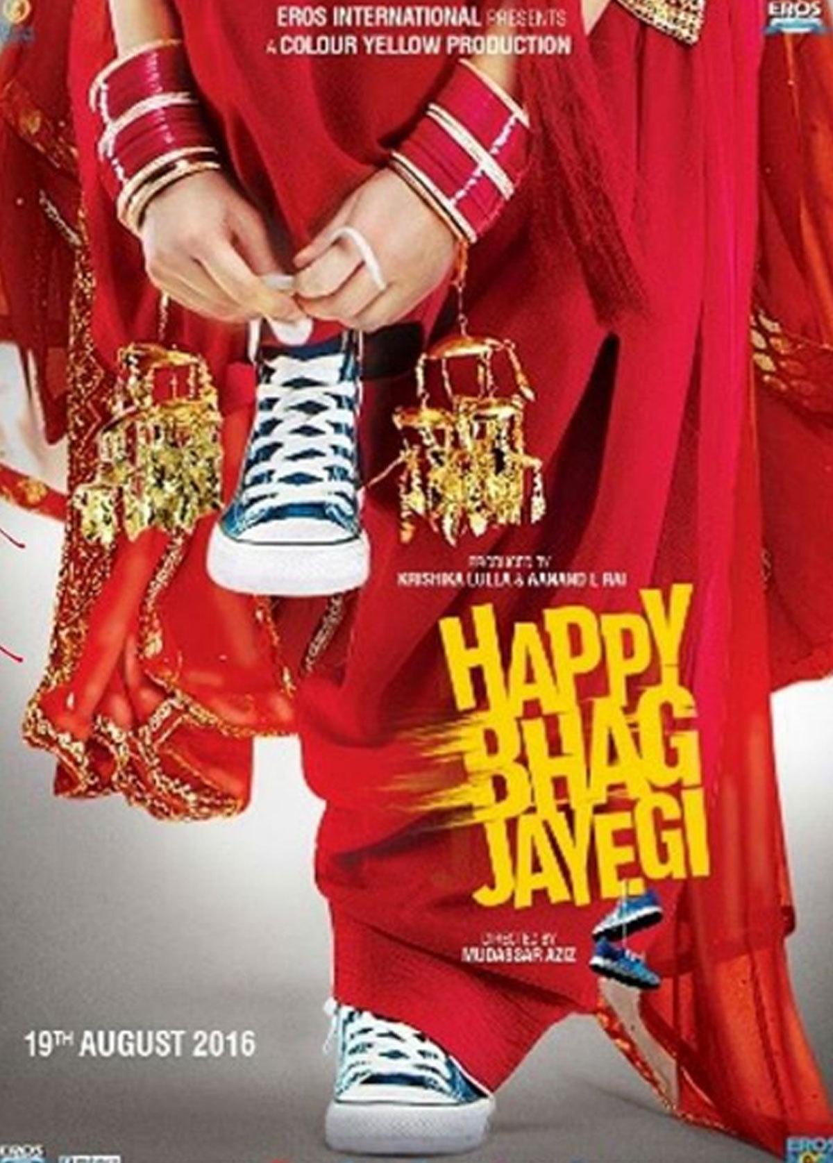 Happy Bhaag Jayegi motion poster