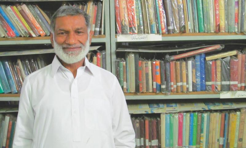 Ziaullah Khokhar.  -Photo by the writer