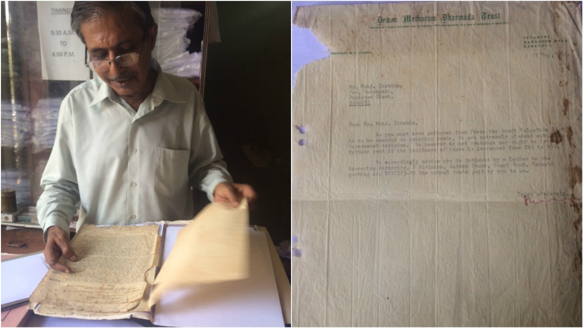 In the world of digital book-keeping, Mr. Hassan keeps his records on paper