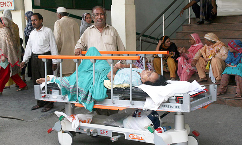 Some people in Pakistan will die simply because there is an absent doctor or an unavailable dialysis machine. —Creative commons