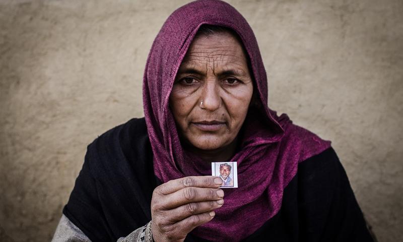 Banu Begum is known to her village as a 'half-widow'| Photos by Sindhuja Parthasarathy