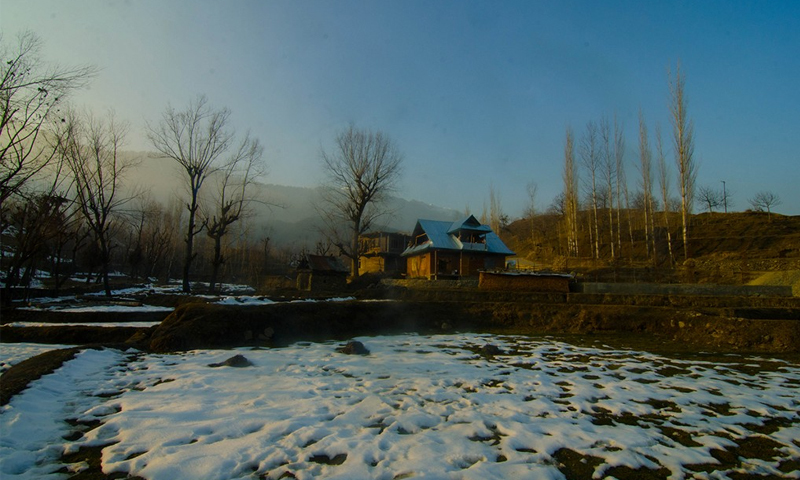 A morning in Dardpora during Chillai-Kalan, the 40-day period of harshest winter