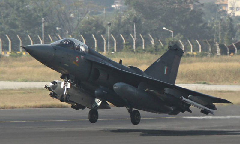 India's first home-built fighter jet enters service after 33 years