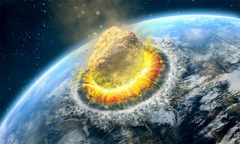 اگر کوئی سیارچہ زمین سے ٹکرا جائے تو پھر؟