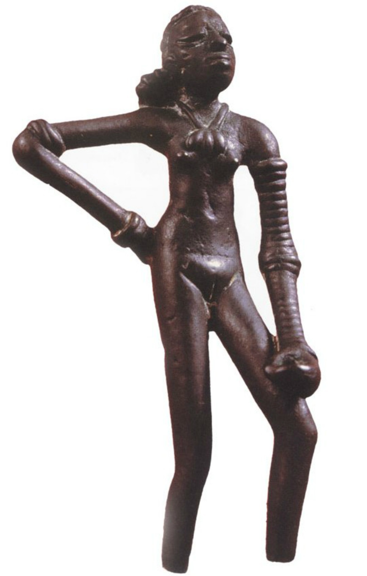 Dancing Girl, on display at the National Museum in New Delhi