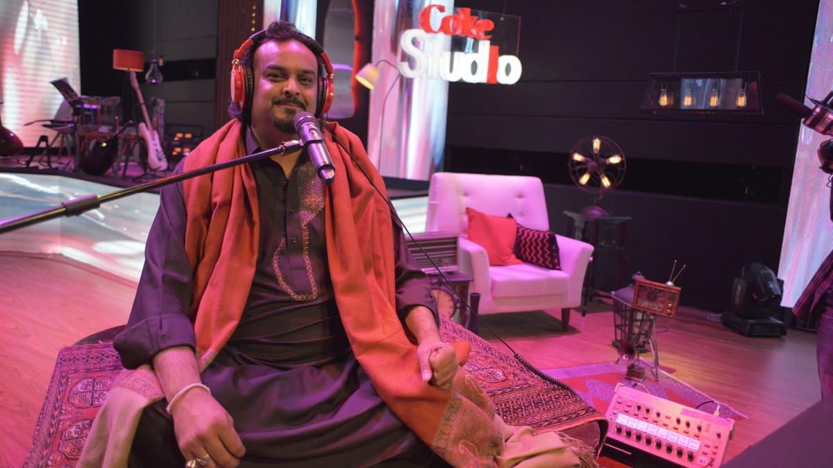 The late Amjad Sabri makes his debut in Coke Studio 9